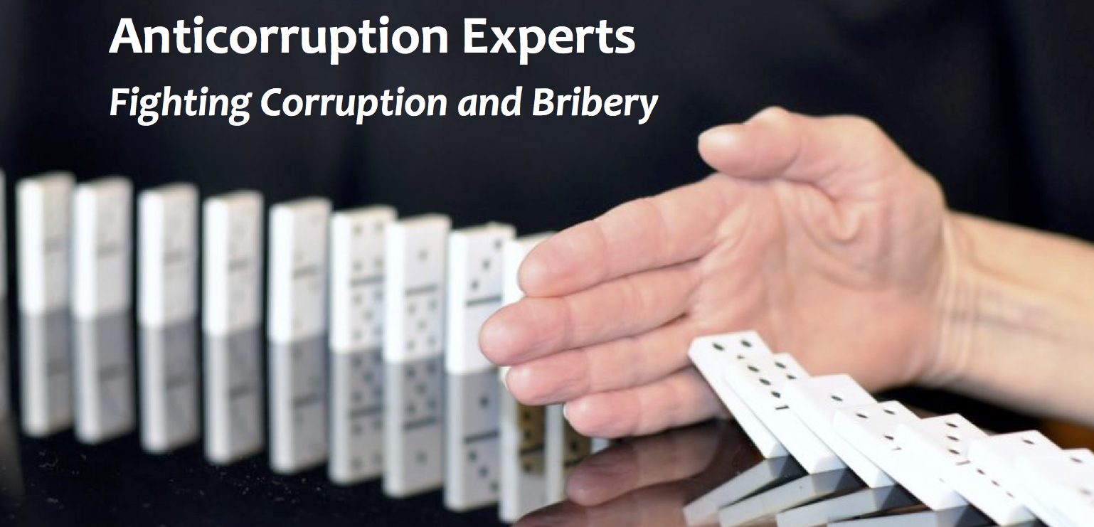 Anticorruption experts: Fighting corruption and bribery